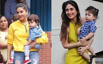 Sunny Leone Reacts On Her Son Being Compared To Kareena Kapoor Khan's Son Taimur Ali Khan