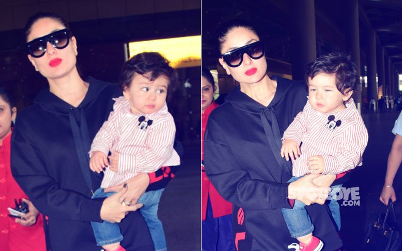 Sleepy Taimur Could Do With A Lullaby: Mommy Kareena, Are You Listening?