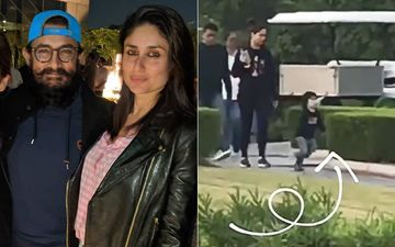 Taimur Reaches Laal Singh Chaddha Shoot In Chandigarh, Runs Around The Sets Of The Kareena Kapoor Khan And Aamir Khan Starrer