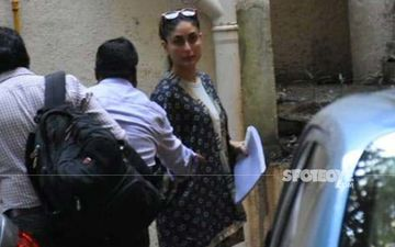 Kareena Kapoor Khan Meets Lal Singh Chaddha Co-Actor Aamir Khan At His Residence  For Script Reading Session
