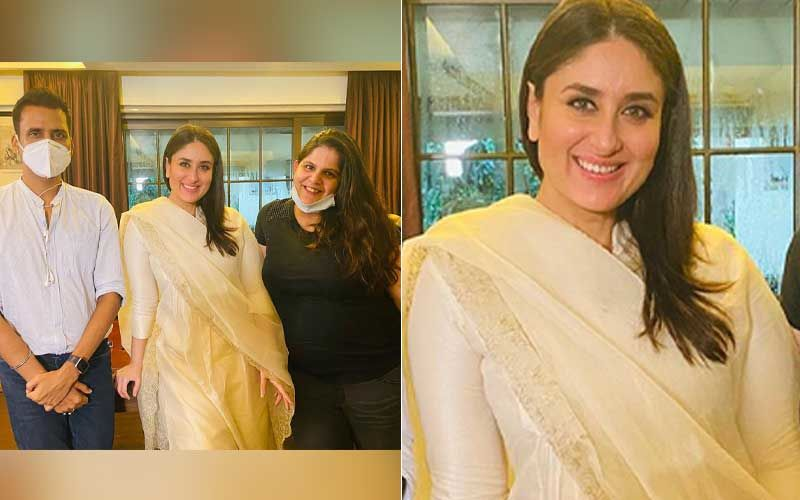Preggers Kareena Kapoor Khan Resumes Work; Pregnancy Glow On Her Face Just Can't Be Missed In Her Latest Pictures