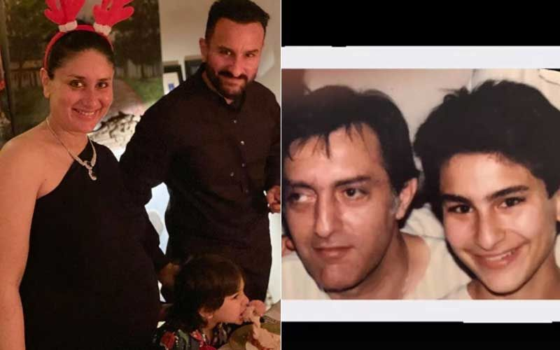 Pregnant Kareena Kapoor Khan Shares Picture That Has An Uncanny Resemblance Between Saif Ali Khan And Father Tiger Pataudi On Latter's Birth Anniversary