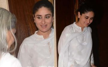 Trolls Call Out Kareena Kapoor Khan For Smiling At The Funeral Of Manish Malhotra's Father
