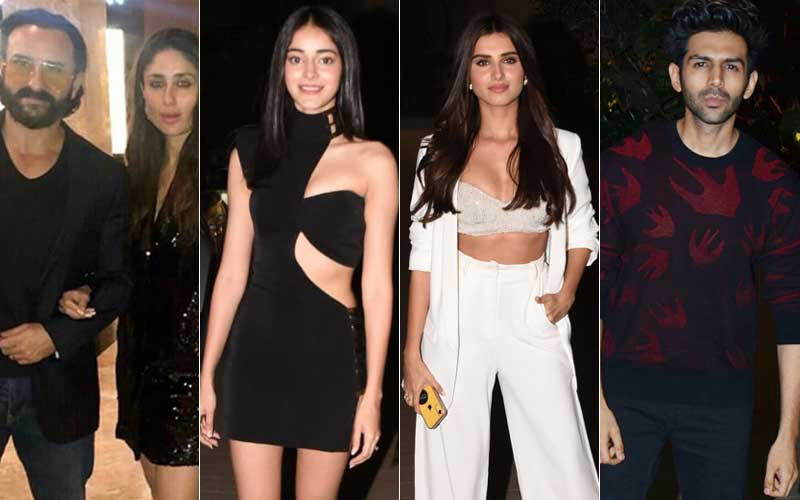 Kareena Kapoor Khan, Ananya Panday, Tara Sutaria, Kartik Aaryan Were Out To Paint The Town Red