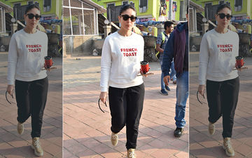 Kareena Kapoor Khan's T-Shirt Hints At Her Breakfast Preferences And It Is Indulge-Worthy