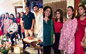Pregnant And Glowing Kareena Kapoor Khan, Neetu Kapoor, Aadar Jain Get Together For Karwa Chauth Family Dinner; Tara Sutaria Joins Them- PICS