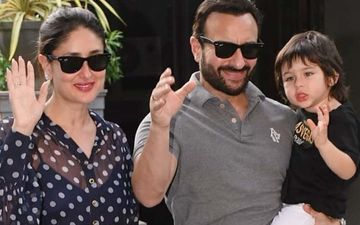 Taimur Wants 'Kala Chashma' Just Like Dad Saif Ali Khan; Tries Stealing Kareena Kapoor Khan's Shades- PIC INSIDE