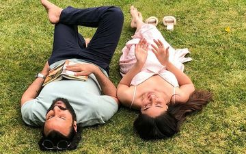 Kareena Kapoor Khan Posts Dreamy Pictures Of Her Outdoor Date With Saif Ali Khan; But Instead Of Falling In Love, He Falls Asleep