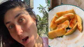 Coronavirus Lockdown: Kareena Kapoor Khan Savours Mouth-Watering Kacchi Kairi; Aims To 'Lick The Entire Plate Clean'