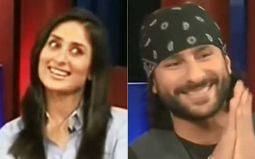 When Saif Ali Khan Mischievously Said: 'I Can't Tell You The Last Thing Kareena Kapoor Khan Does Before Going To Bed'-VIDEO