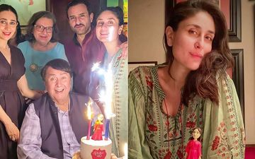 Kareena Kapoor Khan Rings In Her Birthday With Saif Ali Khan, Karisma Kapoor, Randhir Kapoor; You Cannot Miss The 'Fabulous At 40' Cake- INSIDE PICS