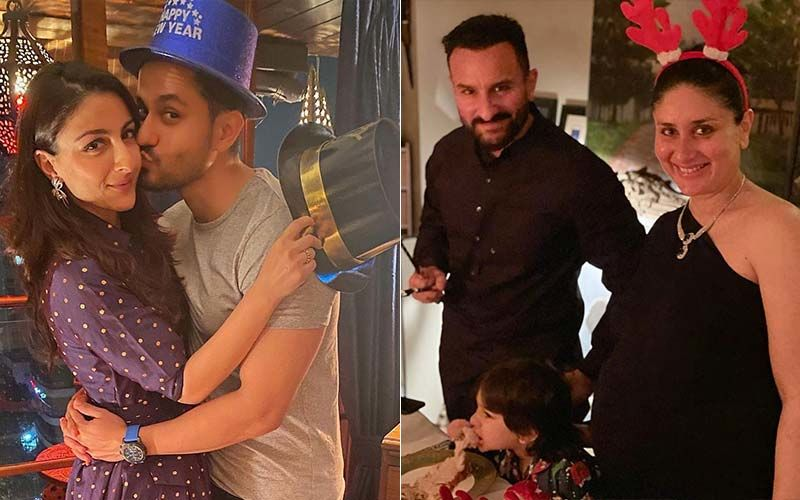 New Year 2021: INSIDE VIDEO From Kareena Kapoor Khan And Saif Ali Khan's Lavish Feast With Soha Ali Khan, Kunal Kemmu Will Leave You Astounded