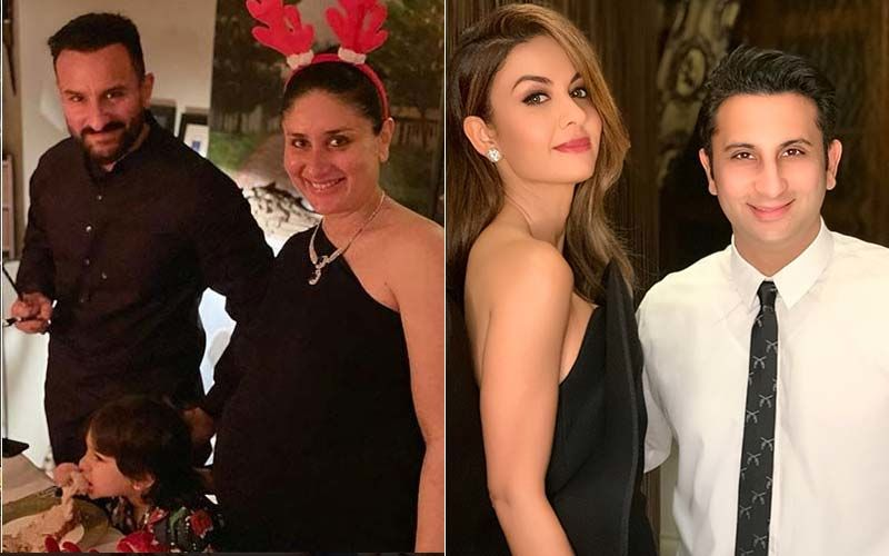 Natasha And Adar Poonawalla Dine At Saif Ali Khan And Kareena Kapoor Khan's Home Hours After Covishield Is Approved As India's First COVID-19 Vaccine - VIDEO