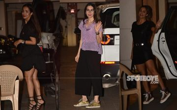 Kareena Kapoor Khan Parties With Her Girl Gang Karisma Kapoor, Malaika Arora And Amrita arora