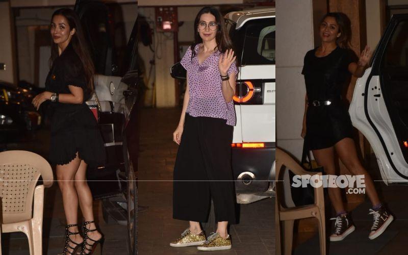 Kareena Kapoor Khan Parties With Her Girl Gang Karisma Kapoor, Malaika Arora And Amrita arora
