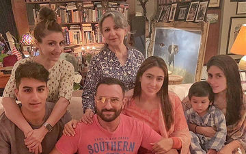 Taimur, Sara, Ibrahim Come Together With Kareena-Saif-Soha And Sharmila Tagore For A Perfect Family Portrait