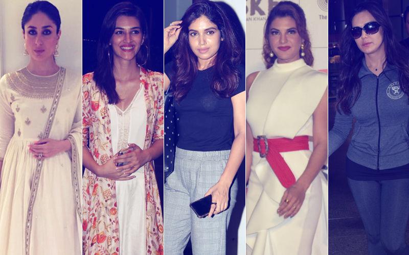 STUNNER OR BUMMER: Kareena Kapoor, Kriti Sanon, Bhumi Pednekar, Jacqueline Fernandez Or Preity Zinta?