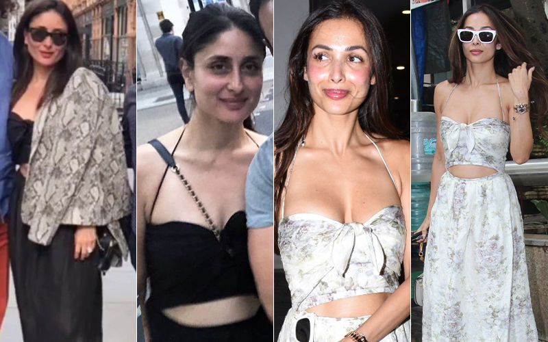 Kareena Kapoor Khan Wears The Same Maxi As Bestie Malaika Arora But In Black- Who Wore It Better?