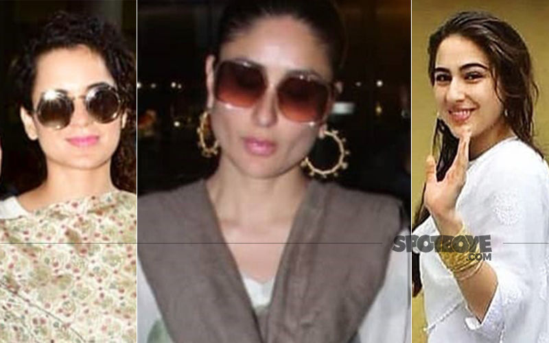 Take Inspiration From Kareena Kapoor And Sara Ali Khan And Try This Cool Kurta Look