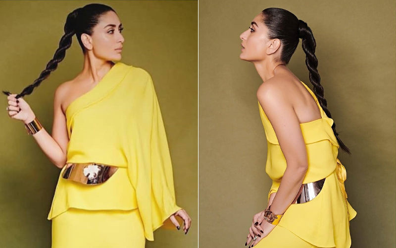 Kareena Kapoor Khan Looks Flawless In Yellow Thigh-Slit Gown, But There's A Flaw