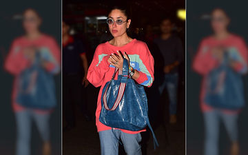 Kareena Kapoor Khan Makes Heads Turn In Her Casually Chic Airport Look; Actress Returns From London