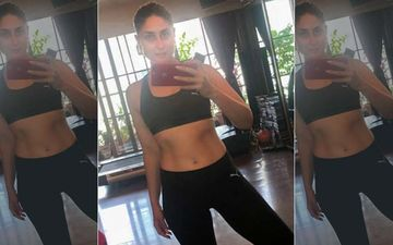 Kareena Kapoor Khan Flashes Her Mid Riff As She Doesn't Wish To Workout While In Self-Isolation