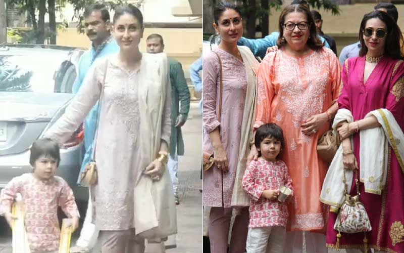 Diwali 2020: When Kareena Kapoor Khan's Little Munchkin Taimur Had Warned Paps 'No' For Clicking His Pictures – Throwback