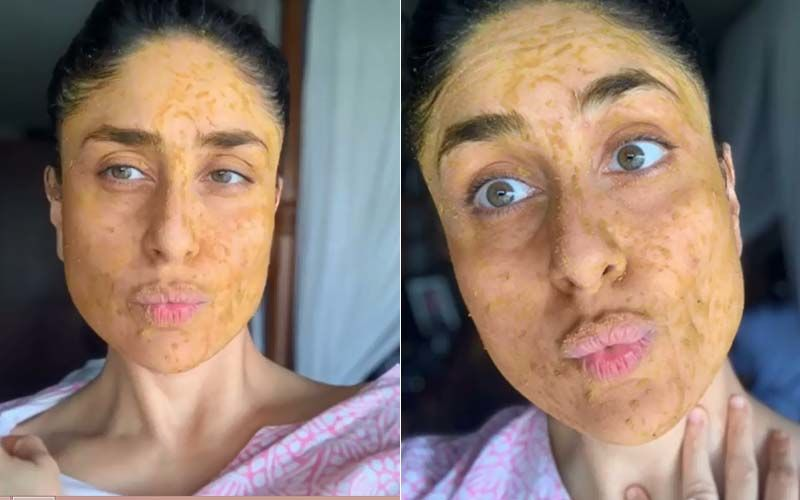 Kareena Kapoor Khan Is A 'Hot Mess' In Kaftan, Messy Bun And Homemade Masks; Her Goofy Expressions Are Unmissable-WATCH