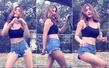 Watch Karishma Sharma Take #KekeChallenge In The Most Sexy Way...