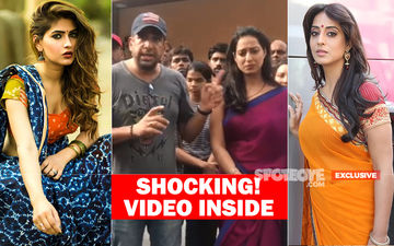 Karishma Sharma, Mahie Gill Almost Attacked In Mira Road: Hooligans Ransack Their Set With Rods And Sticks! What's Happening To Aamchi Mumbai?