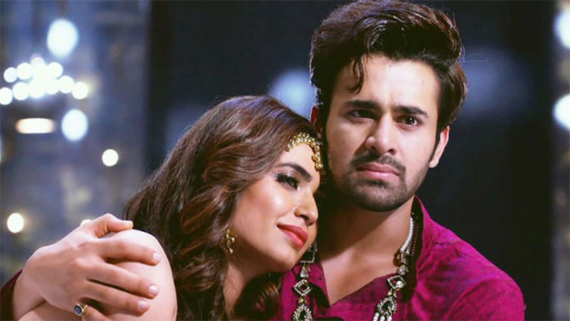 karishma tanna and pearl v puri in nagarjun