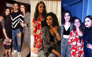 Karishma Tanna Celebrates Birthday With Divyanka Tripathi, Anita Hassanandani, Krystle D'Souza, Sanjeeda Shaikh – View Inside Pics And Videos