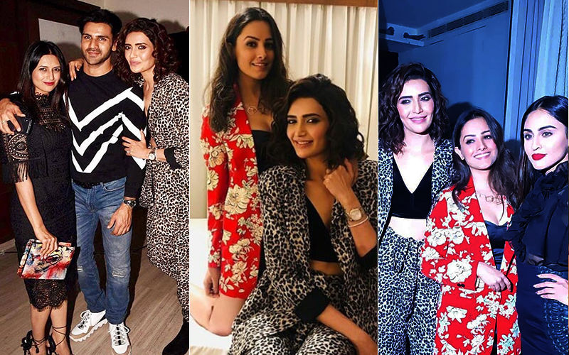 Karishma Tanna Celebrates Birthday With Divyanka Tripathi, Anita Hassanandani, Krystle D'Souza, Sanjeeda Shaikh – View Inside Pics And Videos