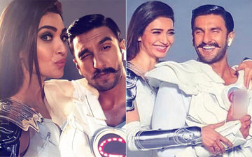 Oops! Karishma Tanna Mistakenly Leaks Shoot Pictures With Ranveer Singh; Deletes Them Pronto