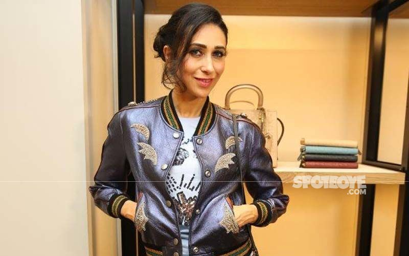 Karisma Kapoor Proves That Age Is Just A Number In This Shiny Outfit