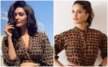 Karishma Tanna Or Sunny Leone- Who Looked Hotter In April's Brown-Black Polka Dots?