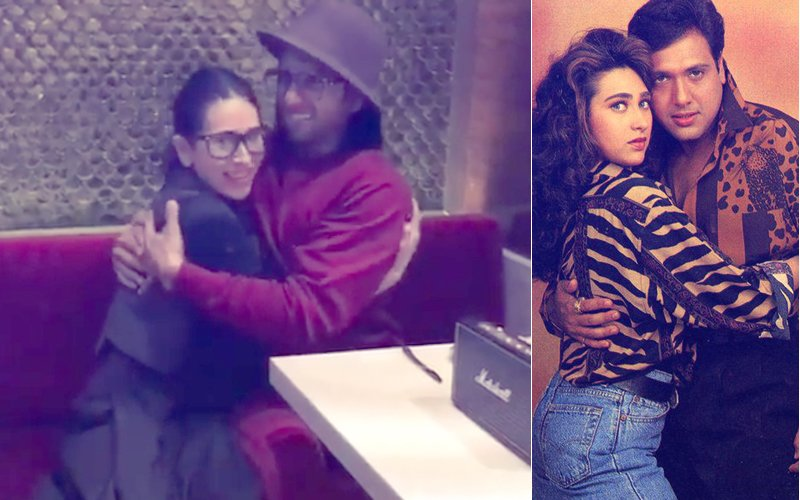 WATCH: Ranveer Singh Slips Into Govinda's Shoes & Karisma Kapoor Gives Him Company