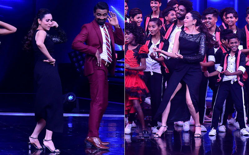 Karisma Kapoor Dazzles On The Sets Of Dance Plus 4