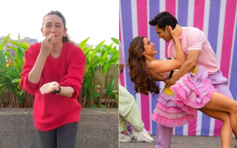 Coolie No 1 Mirchi Lagi Toh Song: Karisma Kapoor Makes Us Nostalgic As She Shakes A Leg On The Redux Version Of Her Track – VIDEO