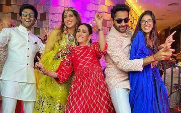 Armaan Jain Sangeet Ceremony Inside Pics: Karisma Kapoor Grooves With Bride Anissa Malhotra To Dhol Beats