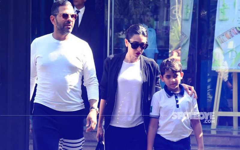 What's Up? Karisma Kapoor Meets Ex-Husband, Sunjay Kapur Over Lunch...