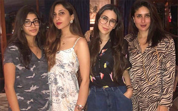 It's A Famjam As Karisma Kapoor Spends Some Quality Time With Sister Kareena Kapoor Khan And Daughter Samiera