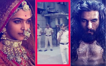 PADMAAVAT CONTROVERSY: Karni Sena Protests Outside CBFC Office, Police DETAINS Members