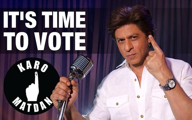 """Karo Matdaan"", Shah Rukh Khan Raps Aloud In A Music Video"