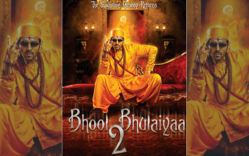 Bhool Bhulaiyaa 2 First Look Posters: Kartik Aaryan Aka Ghostbuster Is All Set To Enter Your Lives