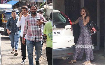 Kartik Aaryan Cannot Stay Away From Ladylove Sara Ali Khan; After Airports, Aaryan Lands Up At Sara's Gym To Pick Her Up