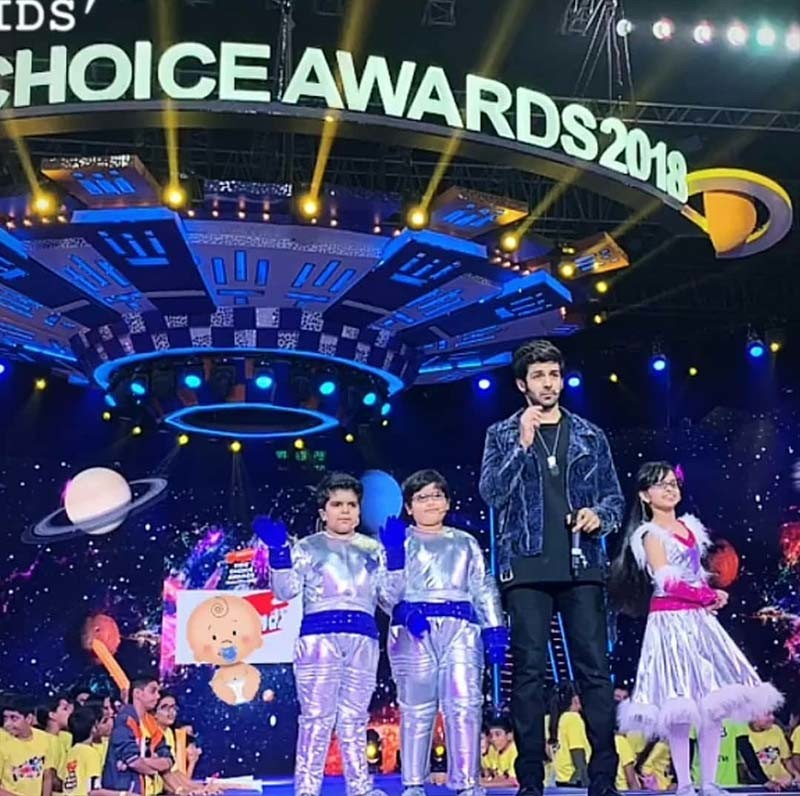 kartik aaryan kids choice awards