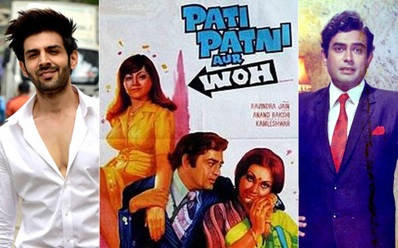 Kartik Aaryan To Step Into Sanjeev Kumar's Shoes For Pati Patni Aur Woh Remake