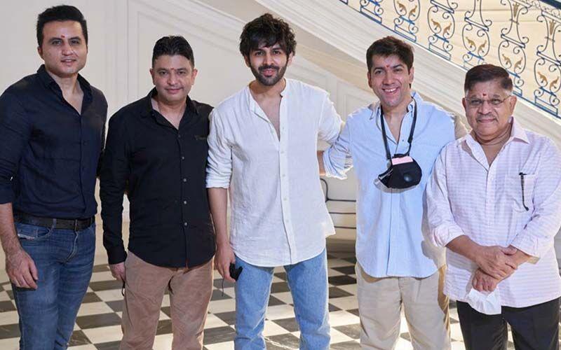 Shehzada: Bhushan Kumar's Production, Starring Kartik Aaryan And Kriti Sanon, Goes On Floors; To Be Released On November 4, 2022 In Theatres