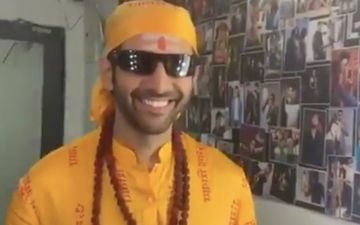 Bhool Bhulaiyaa 2: Kartik Aaryan Turns Dhongi Baba As He Kick-Starts Jaipur Schedule - WATCH VIDEO